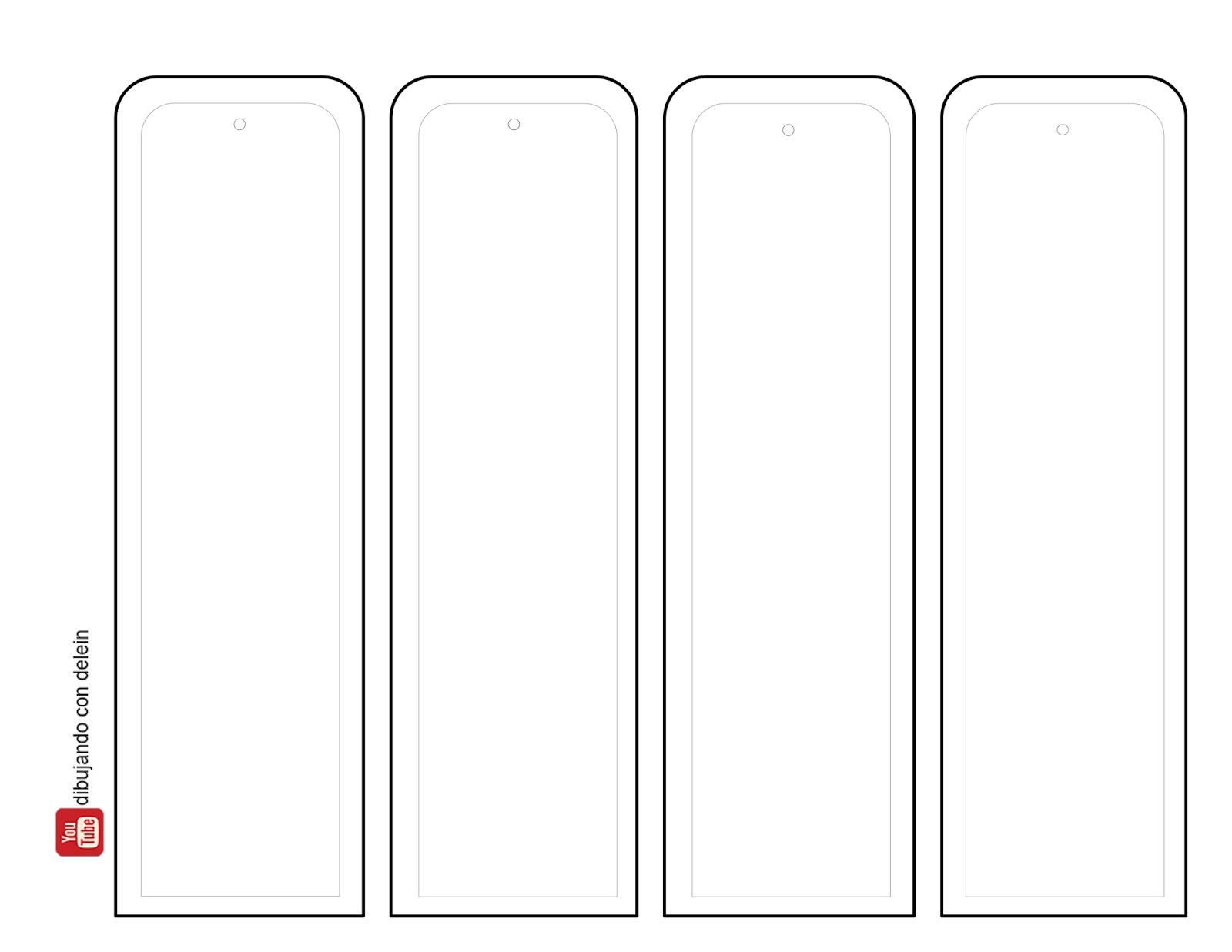 Dibujando Con Delein Como Hacer Una Libreta De Dibujo: Dibujando Con Delein: DIY Como Hacer Un Marcalibro
