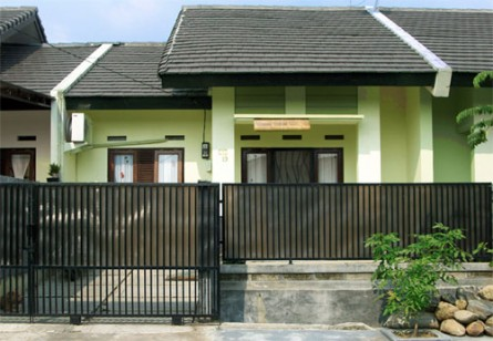 rumah minimalis modern: gambar dan jenis pagar rumah