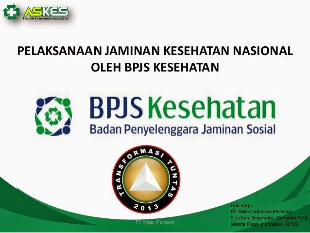BPJS Kesehatan adalah Kunci Kesejahteraan
