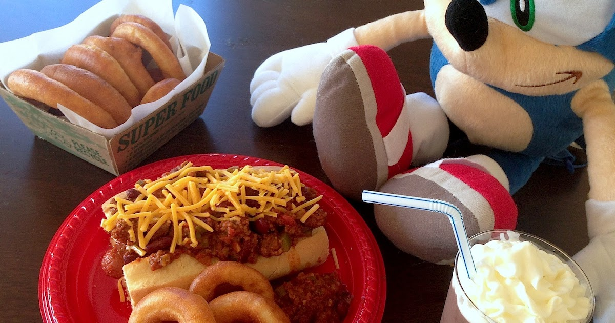 Fiction Food Cafe Chili Dog Meal Sonic The Hedgehog