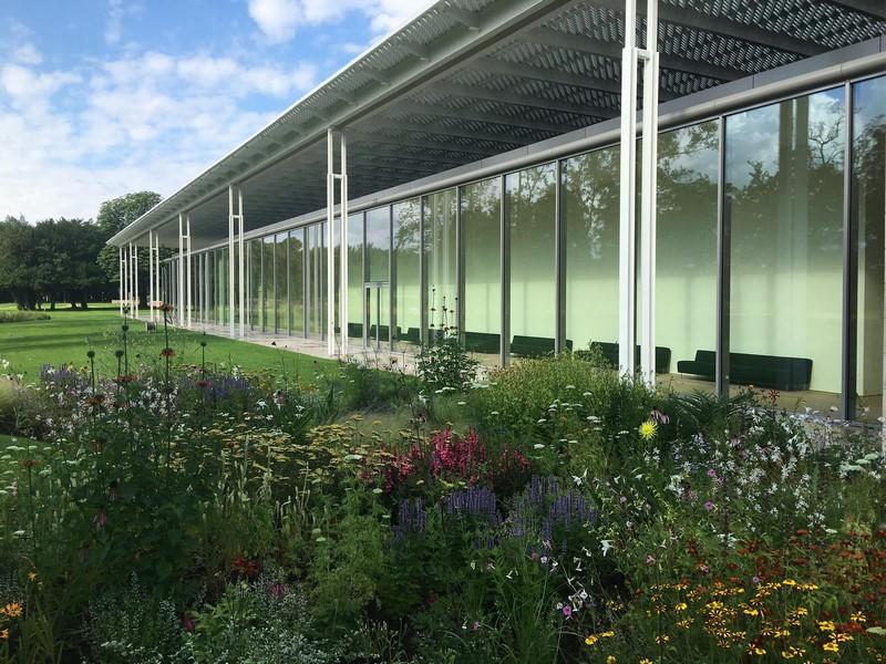 Jardín Museo Voorlinden diseñado por Piet Oudolf