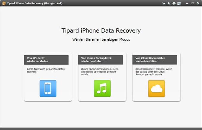 Tipard iPhone Data Recovery Free Serial