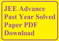 Previous iit pdf jee year papers