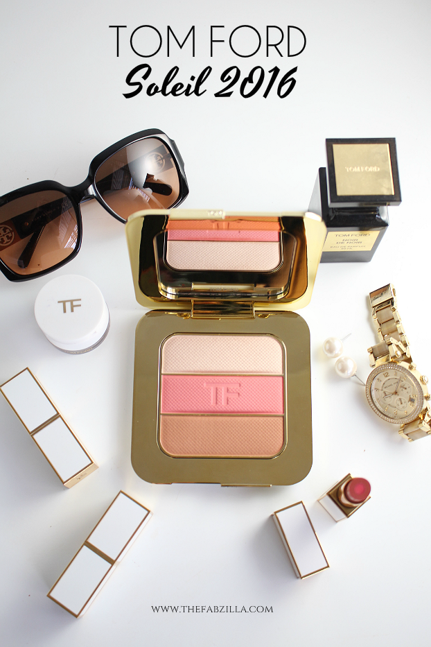 tom ford soleil 2016, tom ford contouring compact- the afternooner review swatch, tom ford moisturecore lip color review swatch