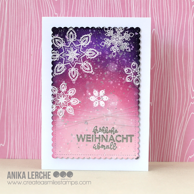 Create a smile: Simple Christmas Cards
