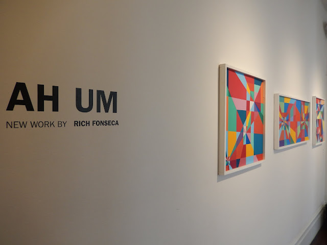 """Ah Um"" by Rich Fonseca at Luna Rienne Gallery in San Francisco. Photo by Katie Pilgrim."