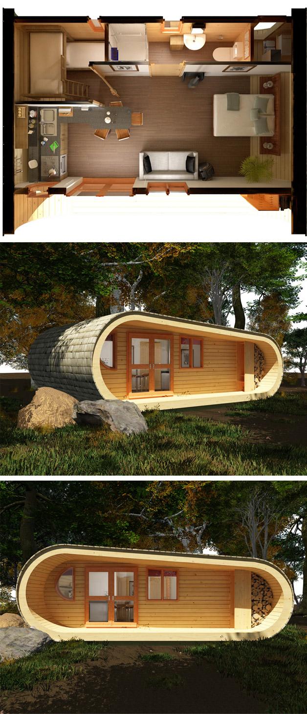 DIY%2BLuxury%2BTree%2BHouses%2B%252816%2529 10 DIY Luxury Tree Houses Interior