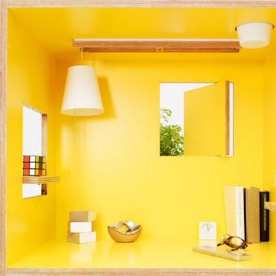 ruang kerja mini privasi maxi | tips rumah | interior