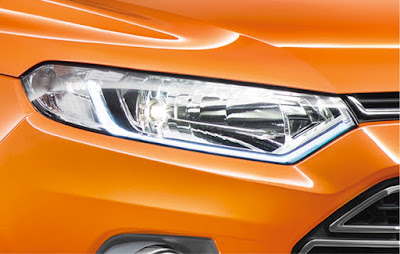 2016 Ford EcoSport Black Signature Edition Headlight