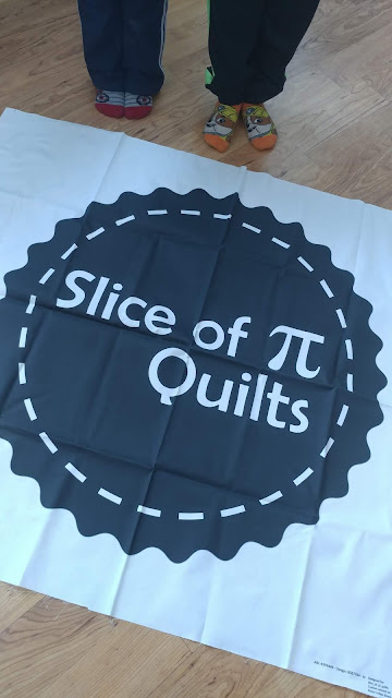 Making a quilt from my logo