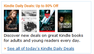Image: Discover new deals on great Kindle books for adults and young readers every day