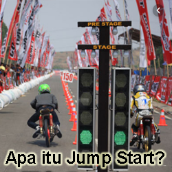 Pengertian Jump Start Drag Bike