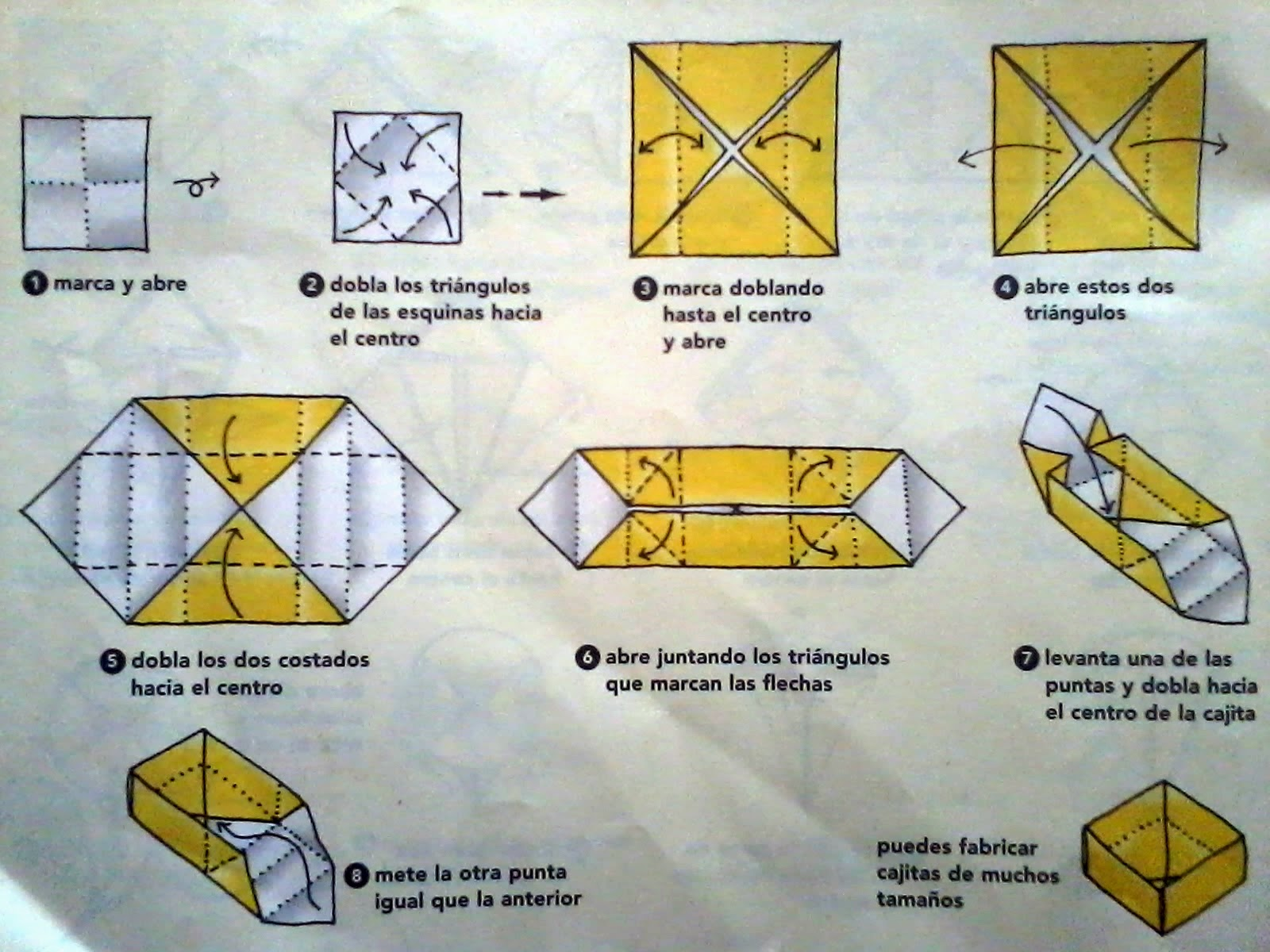 Papiroflexia origami para ni os - Como hacer cosas de papel paso a paso faciles ...