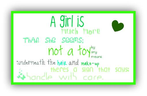 Liaspinsubso Personality Quotes For Girls
