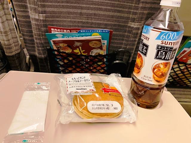 新幹線-吃點心