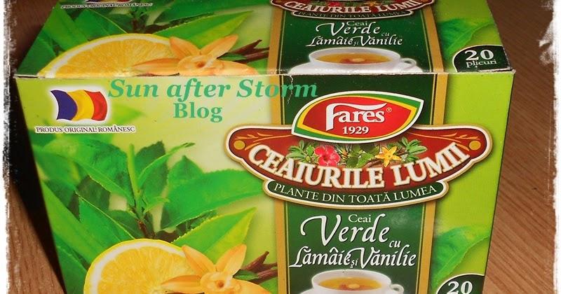 ceai verde cu lamaie si vanilie beneficii