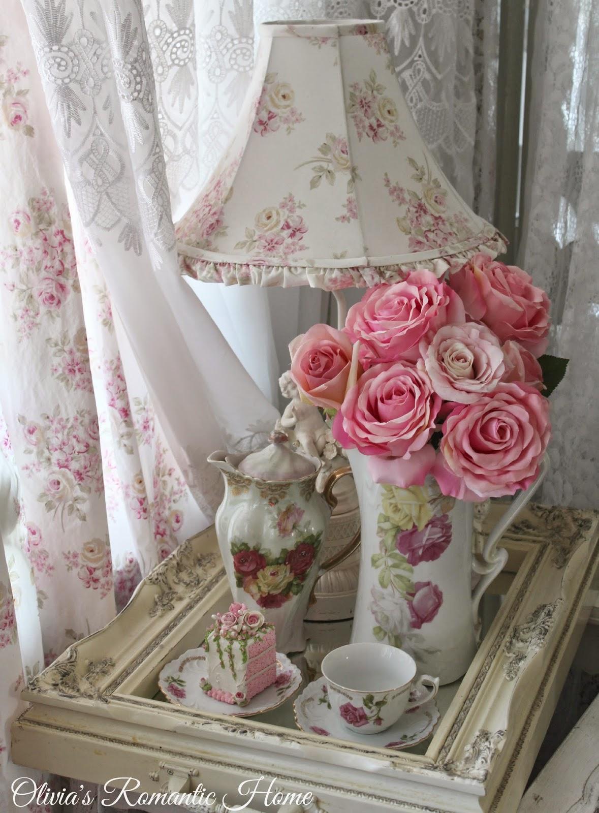 olivia 39 s romantic home pink rose tea time. Black Bedroom Furniture Sets. Home Design Ideas