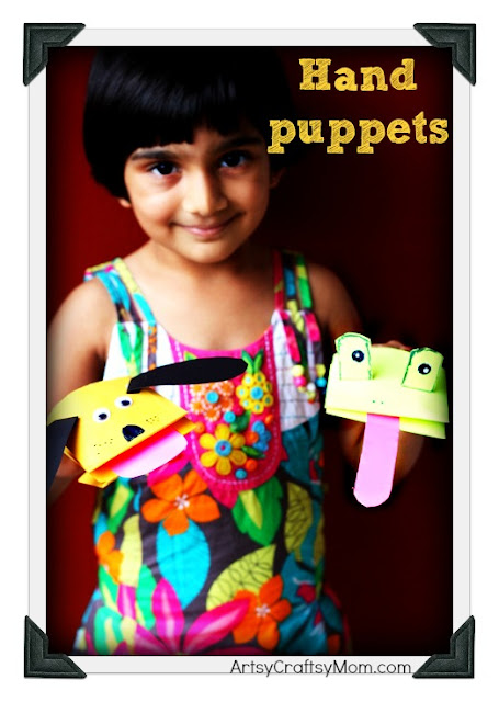 hand paper puppets