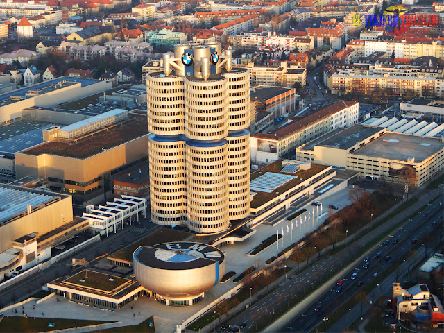 Torreo BMW desde la Torre Olímpica Munich