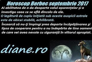 Horoscop octombrie 2017 Berbec