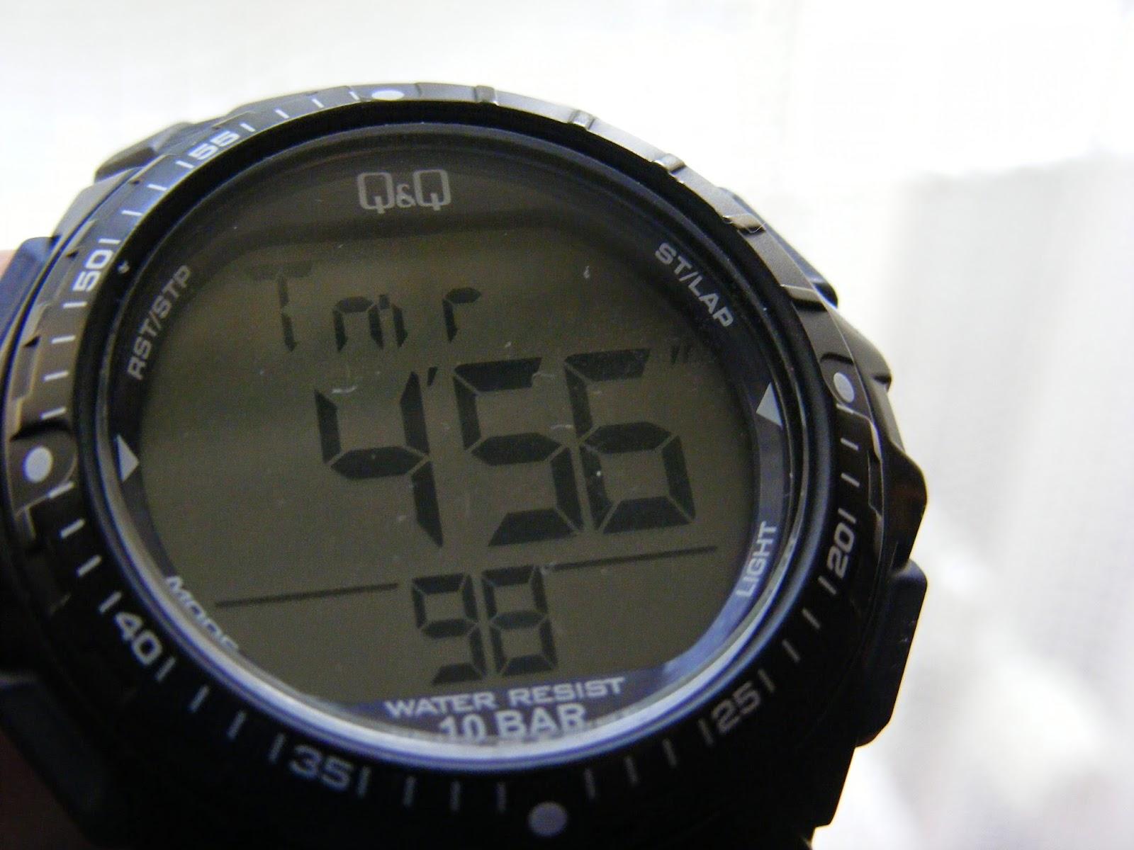 sport digital watch timer