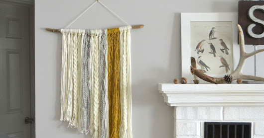Simple DIY Wall Hanging