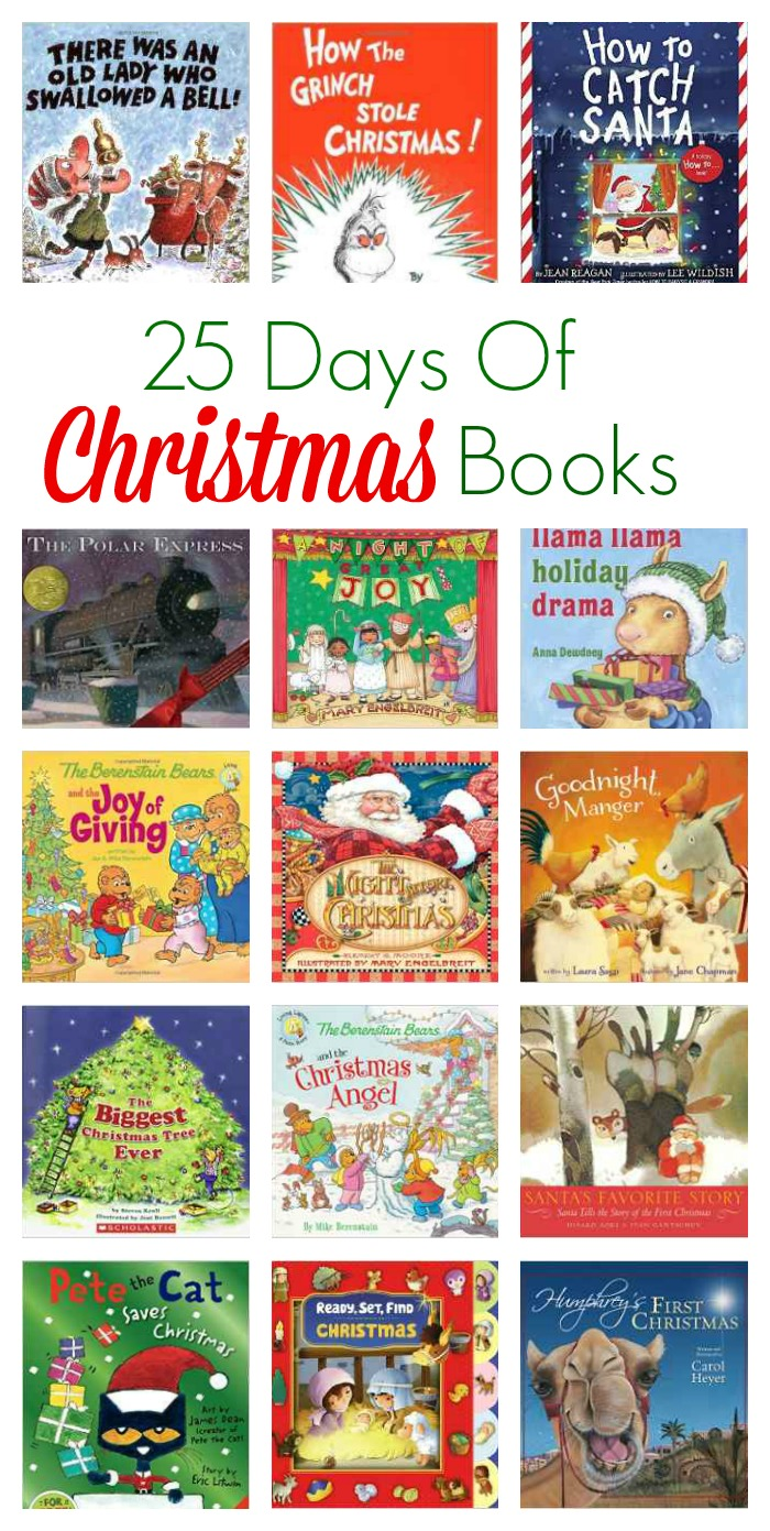 25 days of christmas books the chirping moms