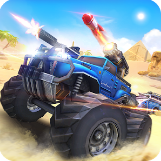 Game Android Overload: 3D MOBA Car Shooting Download