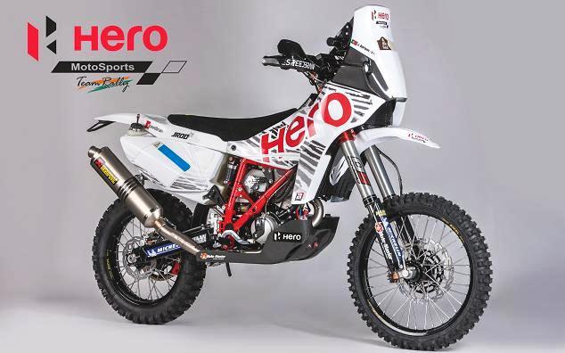 Hero sportif bir motosiklet
