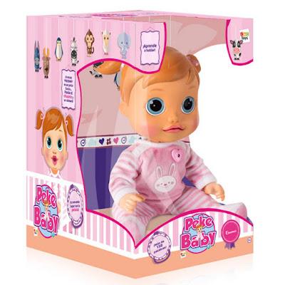 TOYS : JUGUETES - PEKE BABY - Emma  Muñeca Electrónica Interactiva  Producto Oficial 2016 | IMC Toys 95212  Comprar en Amazon España