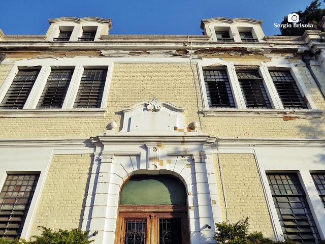 Vista da Fachada do Edifício do Grupo Escolar São José - Ipiranga - São Paulo
