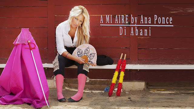 Sesión fotográfica Plaza toros Utiel con Di Abani y Ana Ponce