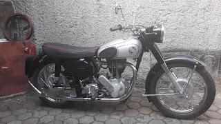 Forsale Norton ES2 1956 350cc ..