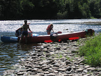 kayak canoe paddle ULM, via ferata