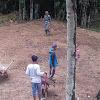 Dansatgas TMMD Ke 104 Kodim 0417/Kerinci, Membuat Lapangan Bola Voli, Disambut Gembira Karang Taruna