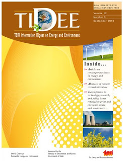TIDEE - Teri Information Digest on Energy and Environment