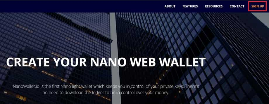 Wallet Monedero NANO Cómo Guardar NANO XRB en monedero