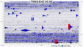 seismograf gunung agung
