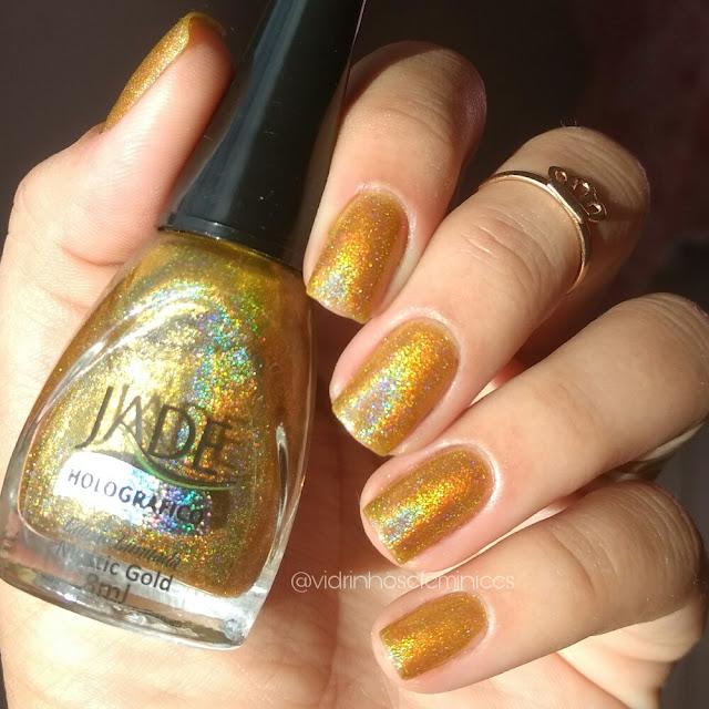 Esmalte Mystic Gold - Jade