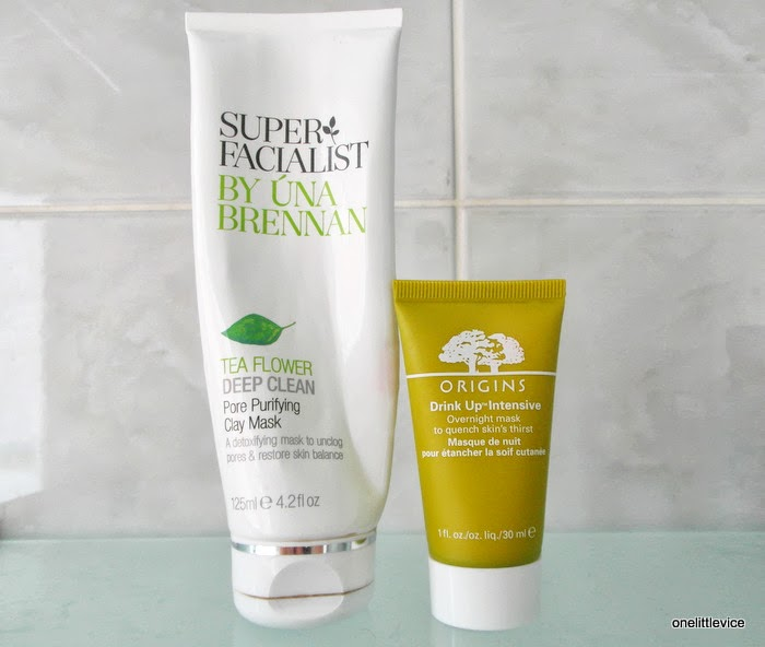 una brennan and origins face mask