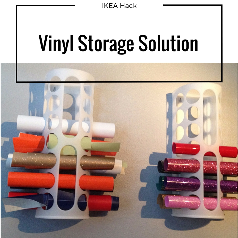 The thrifty spender ikea hack for vinyl storage for Record case ikea