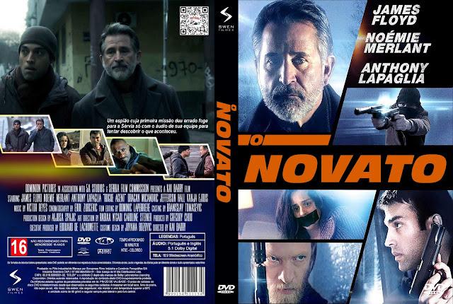 Capa DVD O Novato [Custom]