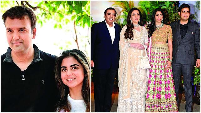 Isha Ambani and Anand Piramal's wedding details are out