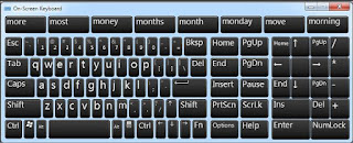 on screen keyboard, keyboard alternatif,