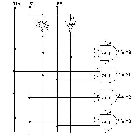 Multiplexer 8 To 1 Logic Diagram Wiring Schematic Diagram