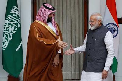 Mohammed bin Salman Visited India