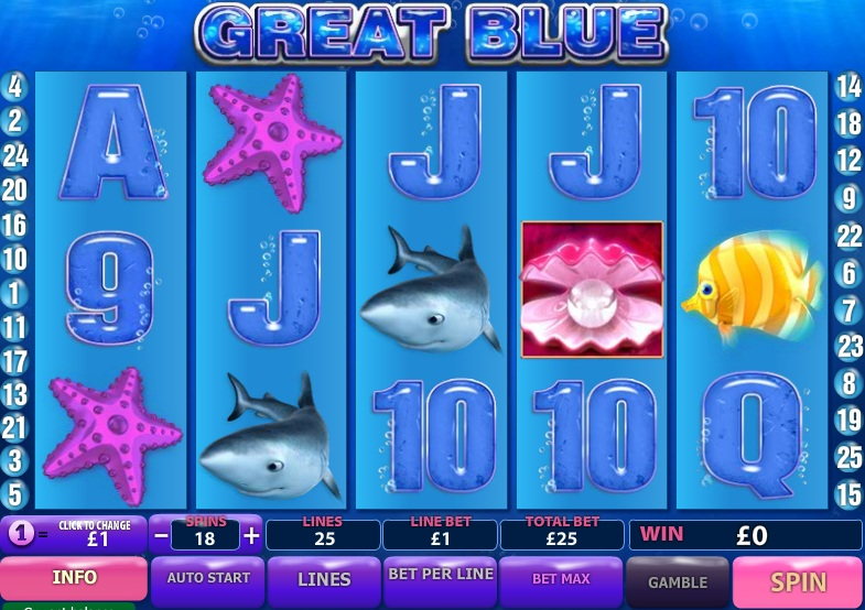 Free online slot games great blue
