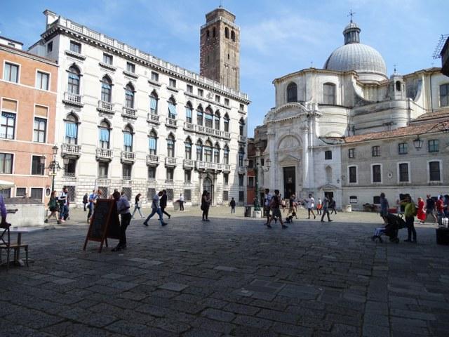 Campo San Geremía Venecia cuatro pozos