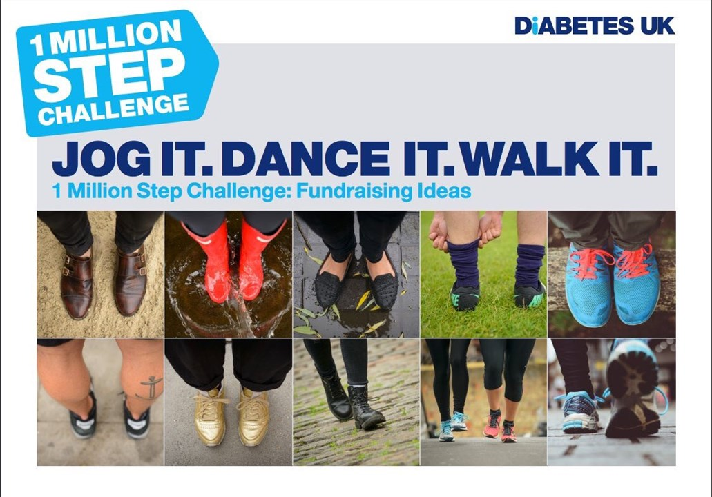 One Million Steps With Diabetes Uk Em Me