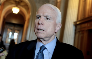 McCain: Trump Scandals Reaching 'Watergate Size And Scale'